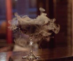 drink på en bar