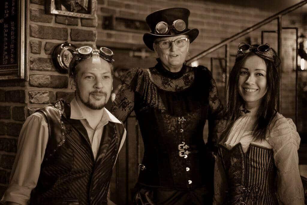 steampunk bar personal