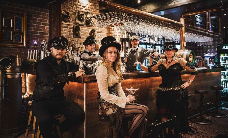 steampunk bar personal