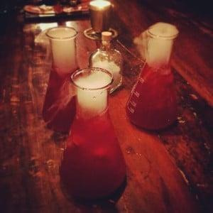 steampunk bar drinkar